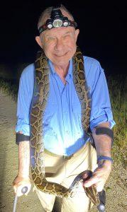 Tom Uhler with Python